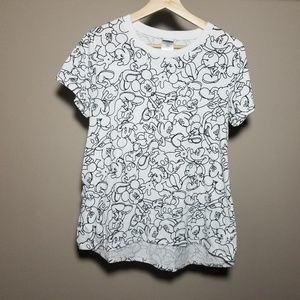 Women's Mickey Mouse Shirt - Size Large